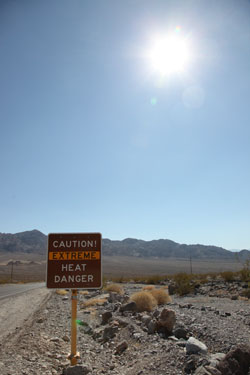 Trip Report and Astronomy Photos from Mahogany Flat Campground, Death Valley