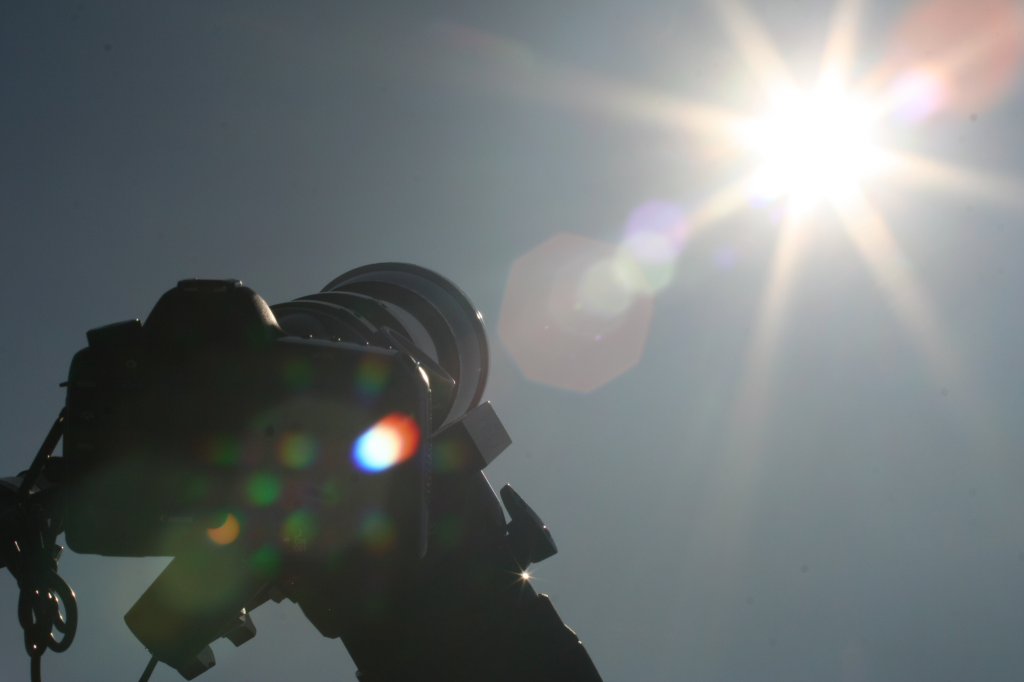 Solar Eclipse Photographs – May 20, 2012