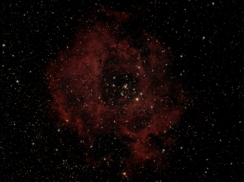 Scope: Takahashi FSQ-106 refractor Mount: Paramount ME Camera: SBIG ST-8300C 7x 10 minute exposures Processed in Nebulosity and Photoshop