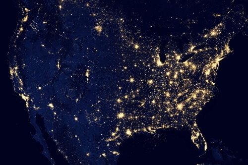 NASA's US at Night